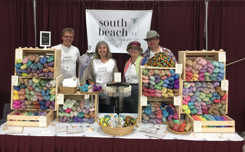 South Beach Yarn Co at the KW Knitters' Fair