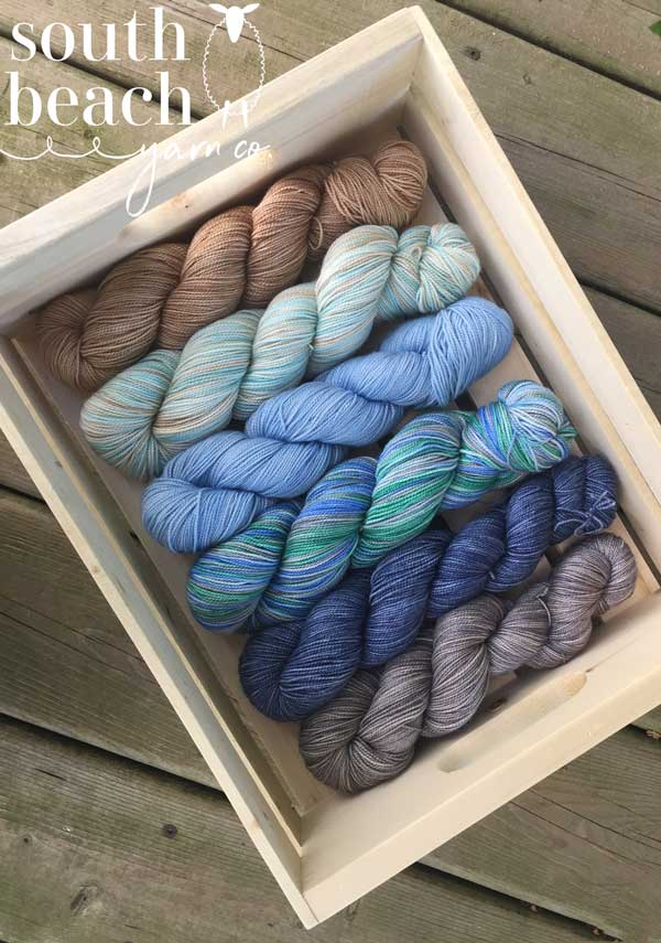 Five Skeins of Silk and SW Merino