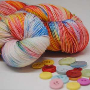 Rainbow Hand-Dyed Sock Yarn