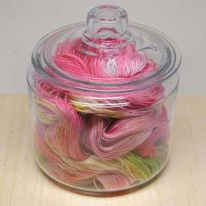 Hand-dyed Yarn Tutti Fruitti Pink