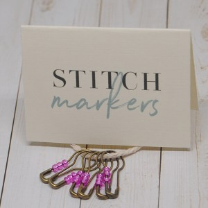 Removable Stitch Markers