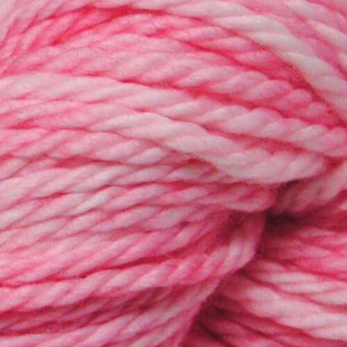 Pink Tutu hand-dyed bulky yarn