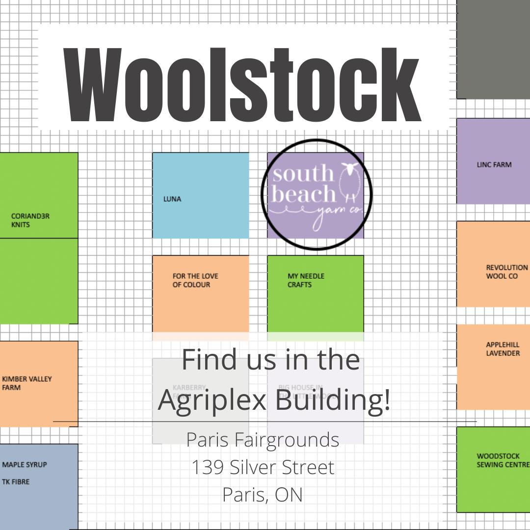 Map of Woolstock Agriplex Building
