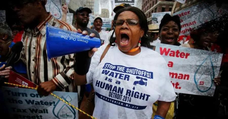 Photo Credit: Detroit Water Brigade