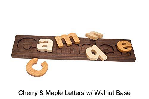 Walnut Board w/ Cherry & Maple Letters