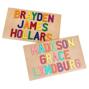 Personalized Three Name Puzzles