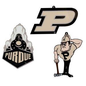 Purdue University 3 Piece Ornament Set