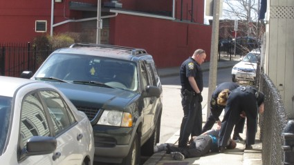 Police make apprehension following foot chase – South Boston Online