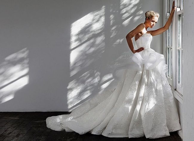 20 Peplum Wedding Dresses