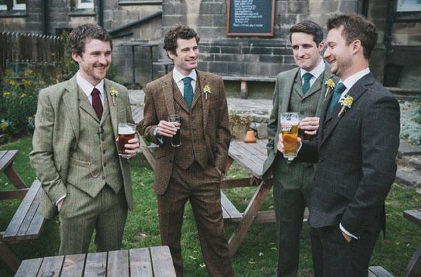 Image result for tweed groomsmen