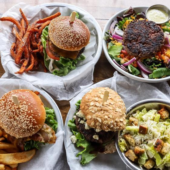 Build Your Own Burger at Sesame Burgers and Beer