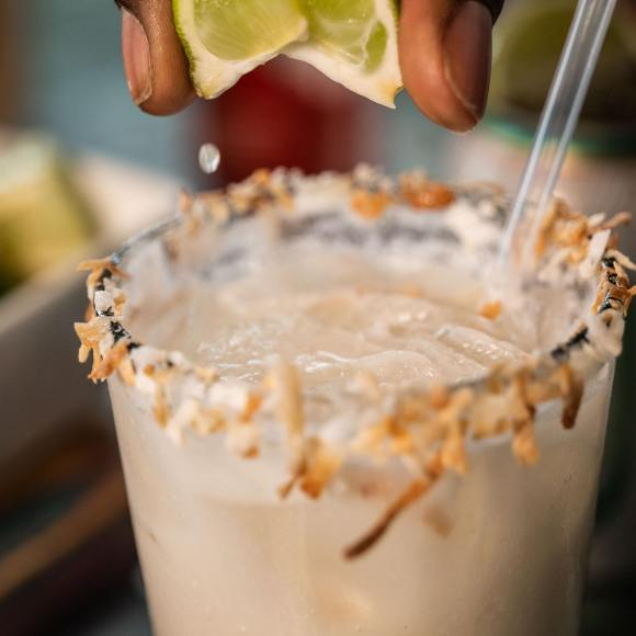 Willy Taco's Coconut Lime Margarita
