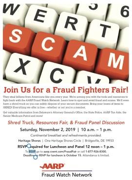 Fraud help from AARP