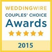 B-Sharp Entertainment is a winner of the 2016 WeddingWire Couples' Choice Award