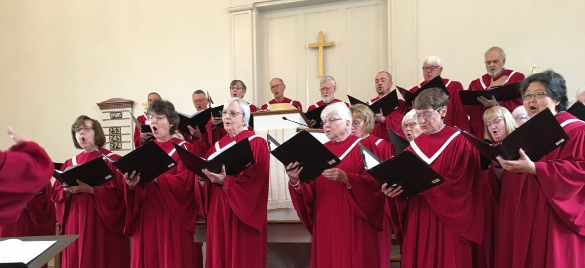 Showing some love to South Church Adult Choir – Give Me Jesus
