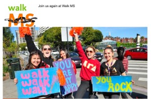 Walk MS 2017 @ UC Irvine Campus