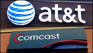 att and comcast logo