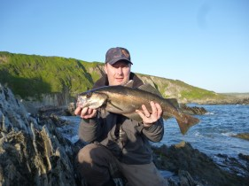 big shore caught pollack on lures