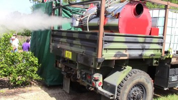 Tree Steamer Truck