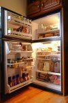 Refrigerator full of food-3