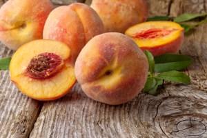 national peach month