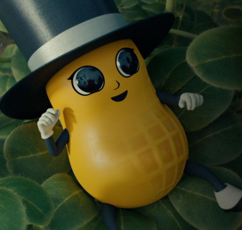 new peanut mascot