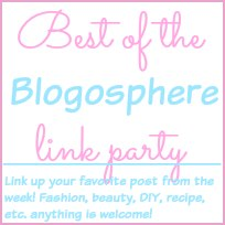 Best of the Blogosphere Link Party Button