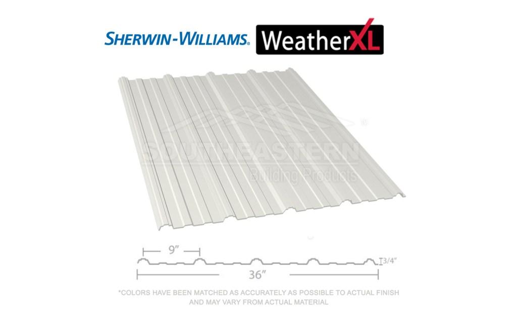 40 Year Sherwin Williams Weather Xl 29 Gauge Bright