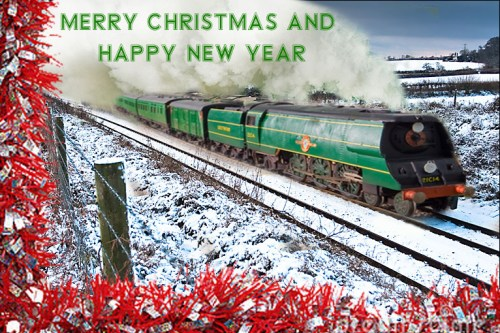 OK so it's Photshop trickery...my 21C14 in slightly unfamiliar surroundings, but merry Christmas and Happy new Year to you all!