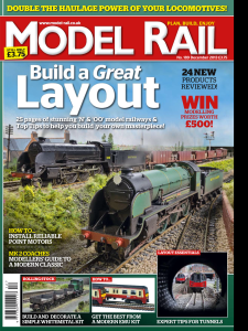 Fisherton Sarum makes the front cover of the December issue of Model Rail Magazine