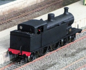 A rear 3/4 view of the 00 Works I3, note the lack of buffer beam lamp irons. Picture courtesy and copyright T Teague