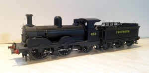 A12 class number 652 has been expertly built by Dave Taylor