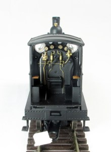 A view of the cab detail, note the commendably thin cab sides considering they are part of the metal casting