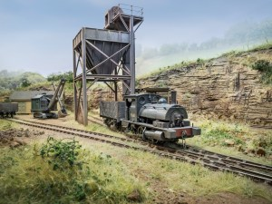 Chris Nevard's wonderful Buckmisnter Ironstone layout is one of the 30 inspirational layouts on show (picture copyright and courtesy of C Nevard)