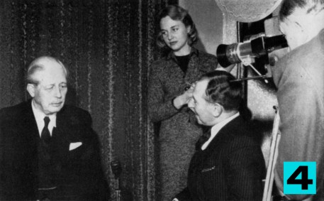 "Southern Television is in on the most significant events — and the most entertaining. ""southern affairs"" is the news magazine which holds up a mirror to the South. Here is Mr. Macmillan being interviewed during a visit to the South."