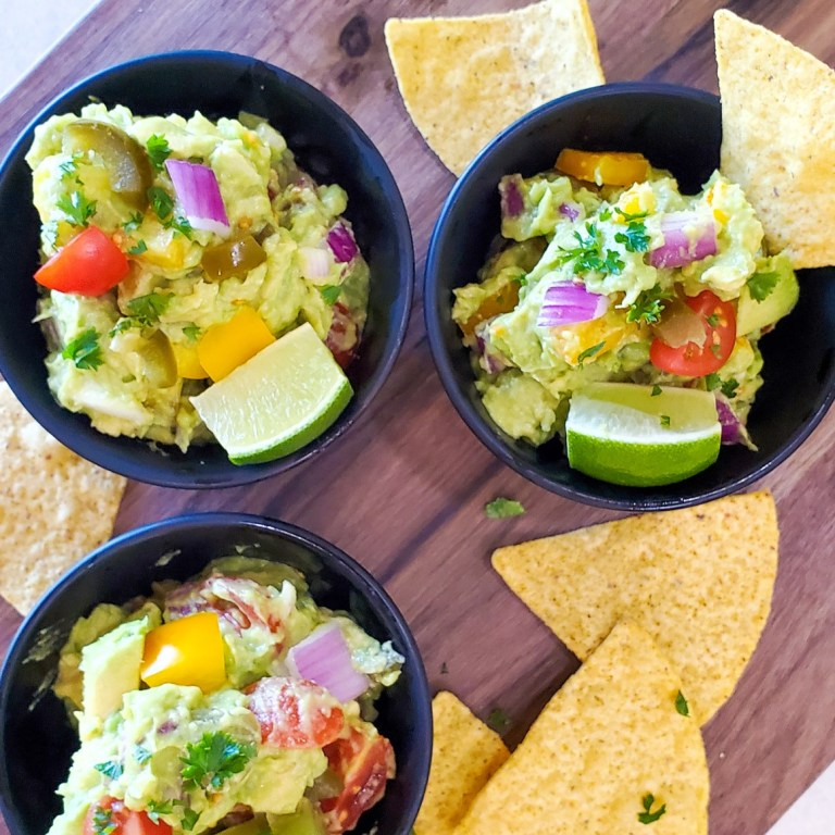 Homestyle Guacamole – Packed with Flavor!