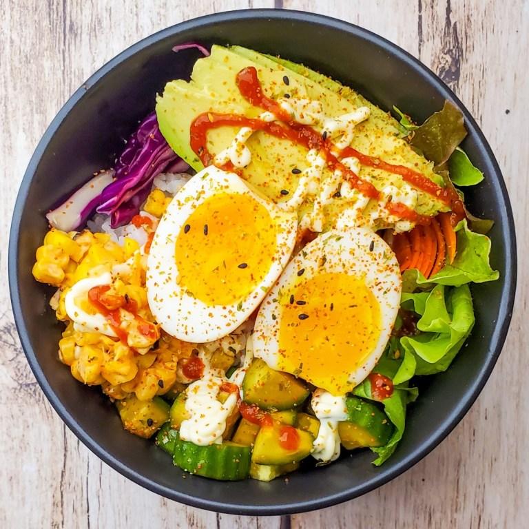 Vegetarian Sushi Bowl