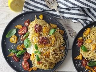 Pasta Primavera Feature