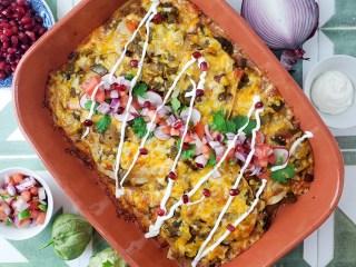 Hatch Chile Enchiladas Feature Image