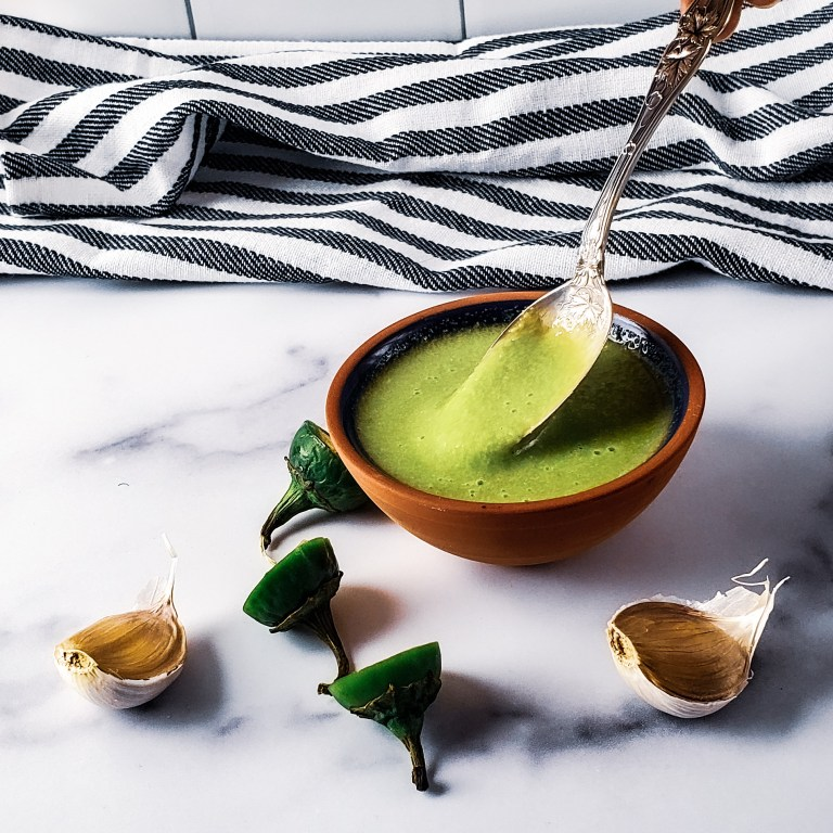Taco Truck Green Sauce Recipe