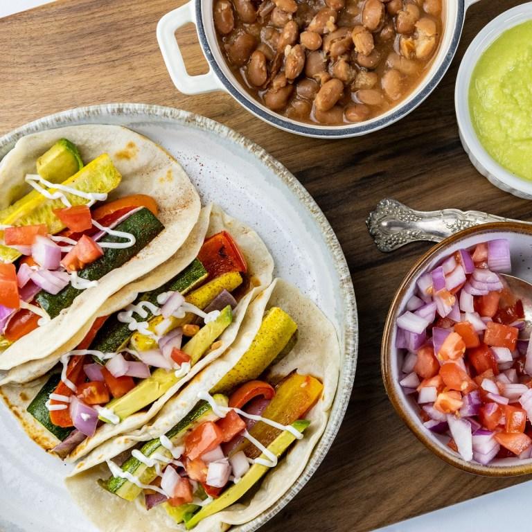 Veggie Fajitas Recipe – Easy Sheet Pan Meal!
