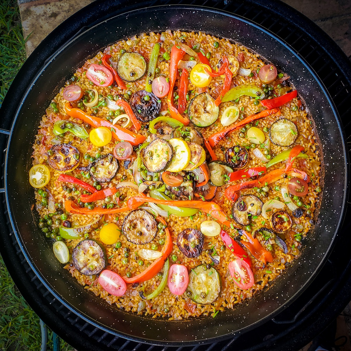 Vegetable Paella Feature