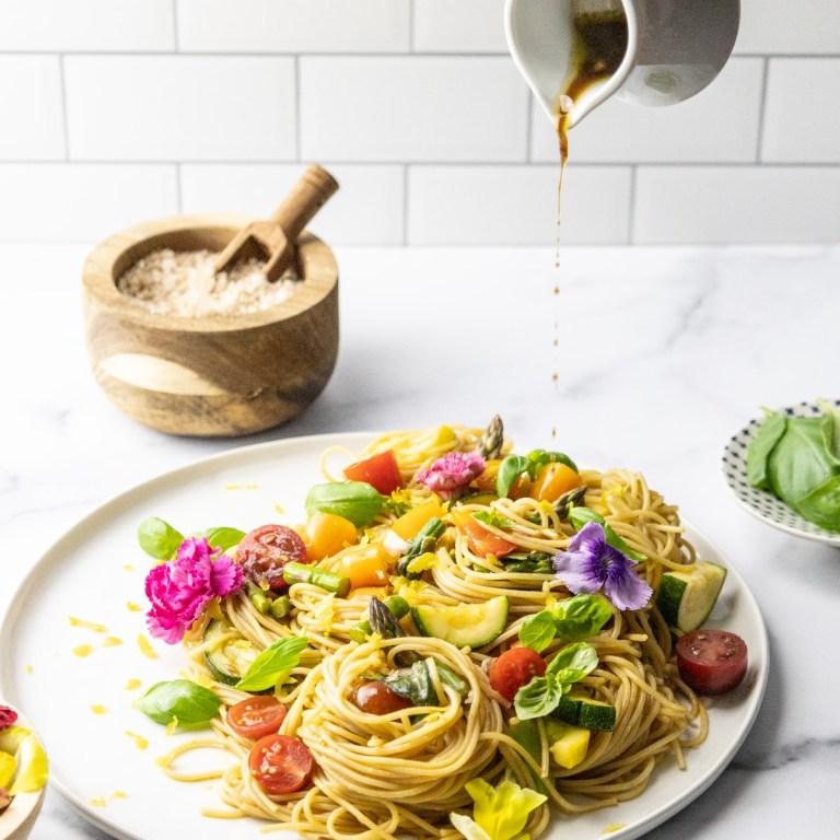The Best Balsamic Pasta Sauce