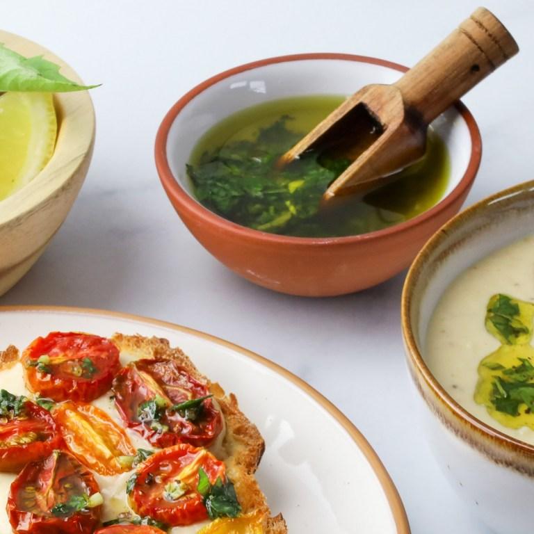 Easy Basil Oil | Basil Infused Olive Oil!