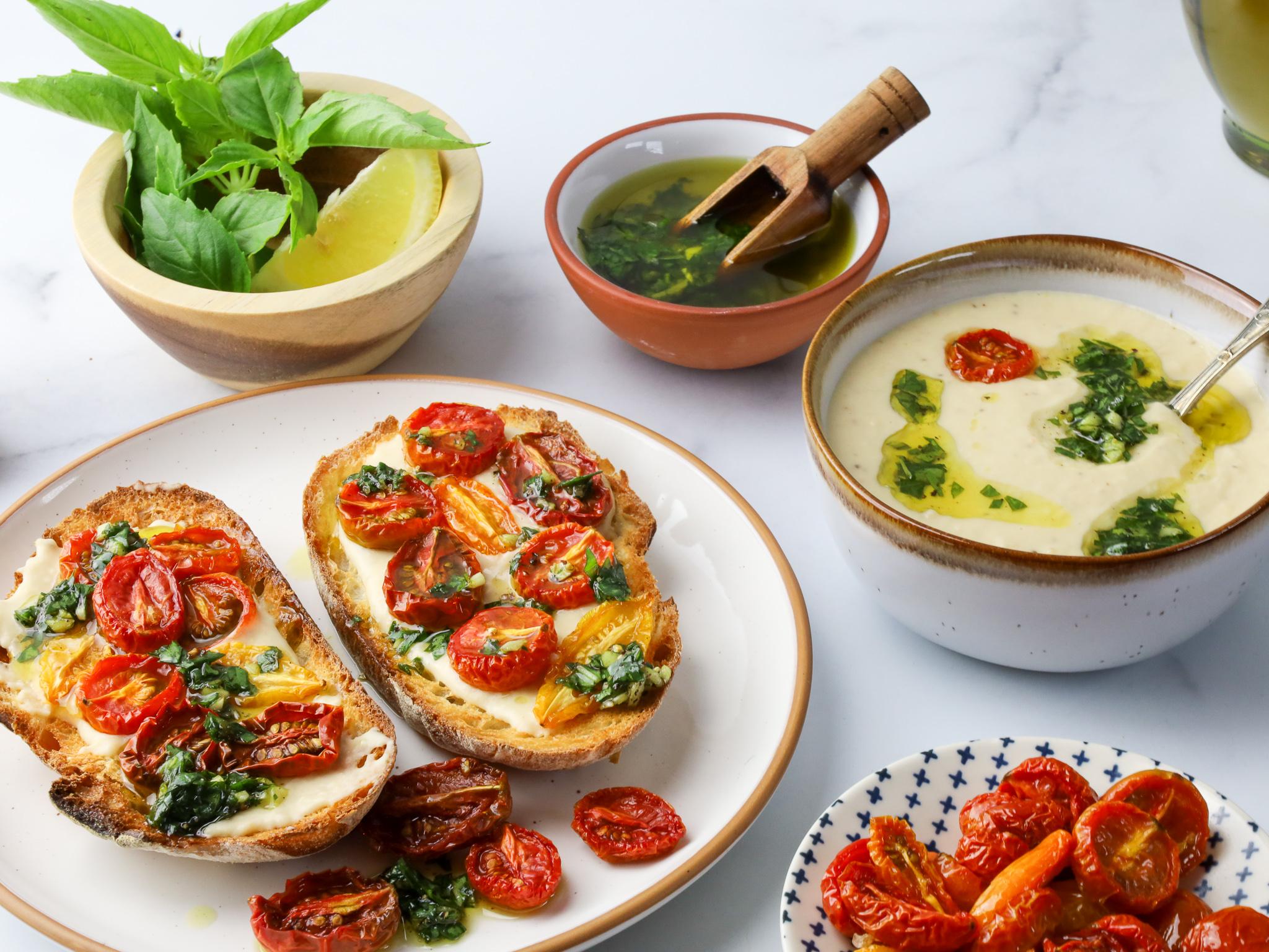 White Bean Tuscan Hummus