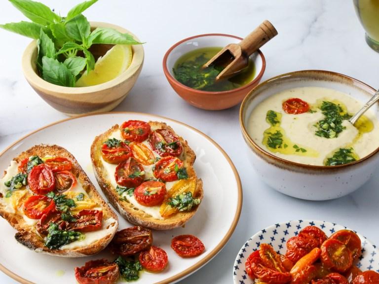 White Bean Tuscan Hummus – Under 15 minutes!