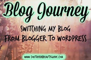 Noticed a Change? + Switching to WordPress!