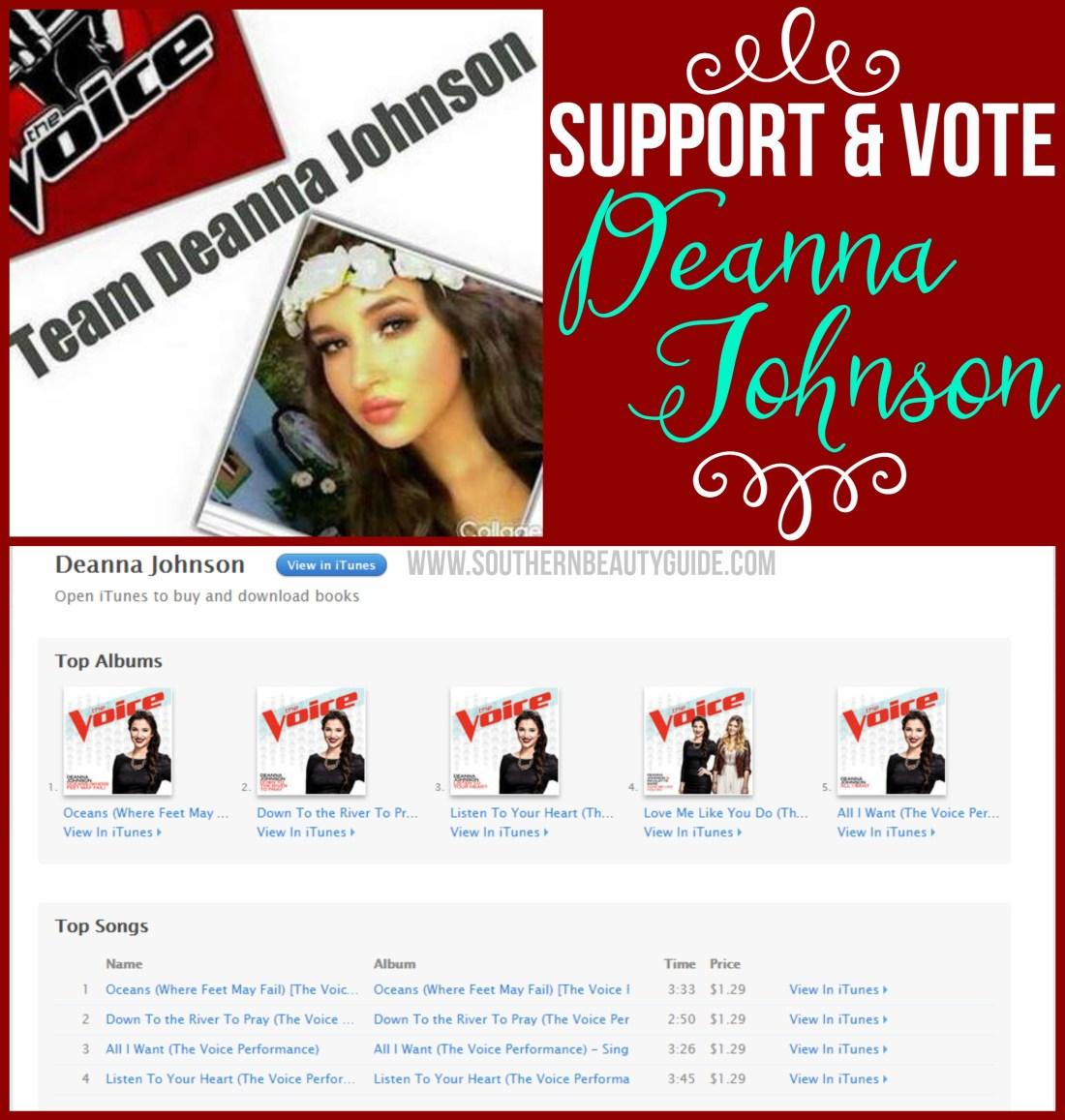Vote Deanna Johnson