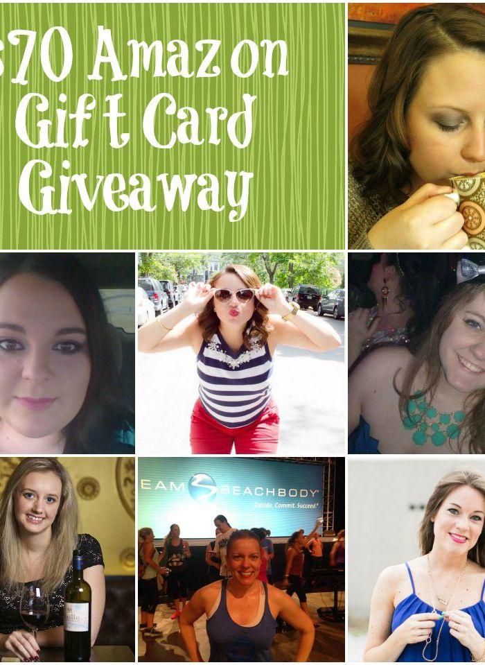 $70 Amazon Gift Card Giveaway!