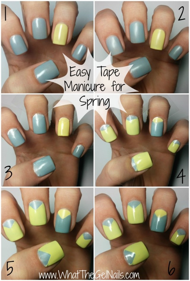 Easy-Tape-Manicure-for-Spring-with-gel-polish-692x10243